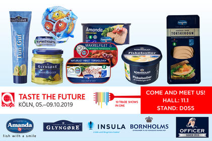 Insula Denmark at the ANUGA fair